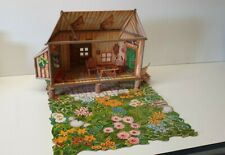 DAVID THE GNOME CARDBOARD MAKE UP MODEL HOUSE & ACCESSORIES 1980s BRB STARTOYS#2