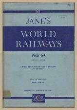 JANE'S WORLD RAILWAYS 11TH EDITION 1969, NEW 609 PAGES OF TRAINS / ON SALE NOW