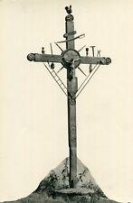 SAINT GERVAIS LES BAINS Carte PHoto de la Chapelle à Cupelin Sa croix avec coq