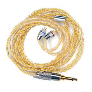 200 Core Extension Audio Cable Cord For KZ-ZST ZSN ZS10 ZSR Headphone 120CM