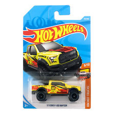 Hot Wheels '17 Ford F-150 Raptor Yellow HW Hot Trucks 6/10 Die-Cast