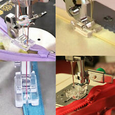 New Invisible Zipper Zip Foot For Domestic Sewing Machine Brother Janome Singer