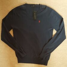 """BNWT FRENCH CONNECTION JUMPER. 100% COTTON. NAVY BLUE. SIZE M (40""""). RRP £45."""