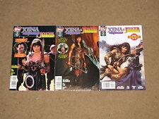 Topps - XENA Princess/JOXER Prince 1 - 3 Complete Series!! 1998 VF