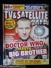 TV & SATELLITE WEEK - DOCTOR WHO - 11 JUNE 2005