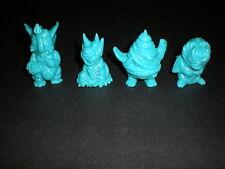 Paul Kaiju Gacha Unpainted Blue Set Of 4 Boss Carrion Unchiman Mockpet Demon Dog