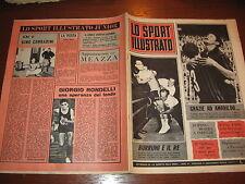 LO SPORT ILLUSTRATO GAZZETTA 1965/17 BURRUNI AMARILDO MILAN ROMA MESSINA INTER