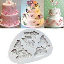 Silikon Küche Backen Sugarcraft 3D Schmetterling Schimmel Kuchen Dekor Fondant k