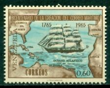 Venezuela Scott #892 MNH Ship Map Marine Mail Philately CV$2+