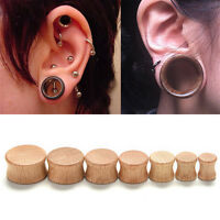 Great Ear Plugs Organic Saddle Flesh Tunnels Expander Stretcher Gauges TO