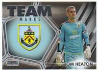 2016-17 Topps Stadium Club Premier League Team Marks #TM-15 Tom Heaton