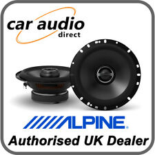 "ALPINE S-S65 16.5cm 6.5"" 240W 2-Way Coaxial Radio Stereo Audio Speakers Door"