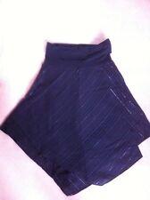 Hooch Skirt Black 14 Lurex New Maternity