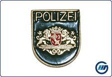 Pin Polizei Bremen - als Wappen - grün