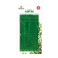PACK OF 50 REUSABLE GARDEN PLASTIC PLANT CABLE TIES TREE CLIMBING 17cm