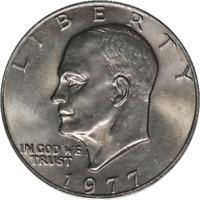 1977-P Eisenhower Ike Dollar PCGS MS65 Decent Eye Appeal Nice Strike - Stock