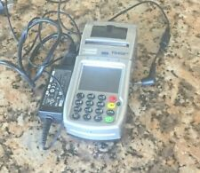 First Data Fd-400 Gt Credit Card Terminal with Power Supply
