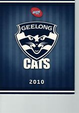 GEELONG FOOTBALL CLUB 2010 BOOKLET SET OF STAMPS OFFICIAL SOUVENIR BOOKLET