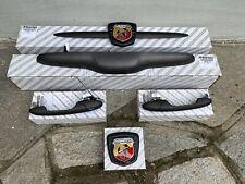 Kit Fregi Maniglie Abarth 500 Competizione 595 NUOVO Grigio Satinato 695 SS