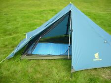 Ultralight Backpacking Tent - 1 Man Tent - Just 1.1kg - c/w Alloy Walking Poles