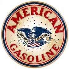 American Gasoline Eagle Metal Sign Man Cave Garage Body Shop Barn Shed PTS128