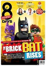 8Days Singapore Asia Magazine LEGO Batman Movie New!