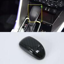 Carbon Fiber Car Gear Shift Knob Decor Trim for Mitsubishi Eclipse Cross 17-18