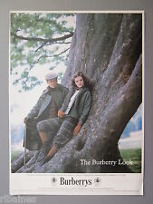 R&L Ex-Mag Advert: Burberrys of London, Country Vintage His and Her Fashion