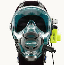 Ocean Reef Neptune Space G.divers Full GSM Radio Communication Diving Mask SM EM
