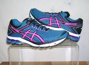 Women's ASICS GT-1000 4 Gore-Tex Shoes Sz 10 Mosaic Blue/Pink T5B7N5334 FastShip