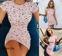 Womens Short Ladies Tops Casual UK Loose cosy Holiday Baggy Party Mini Dresses