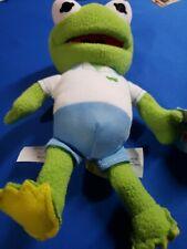 "Disney Jr. Muppet Babies Kermit The Frog 8"" Plush Stuffed Animal Toy brand new!"