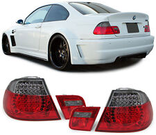 2 FEUX ARRIERE A LED RED NOIR BMW SERIE 3 E46 COUPE 318 Ci 04/1999-03/2003
