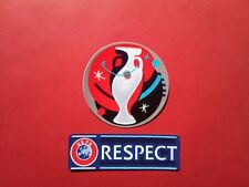Euro 2016 Uefa Euro 2016 France + Respect Badge Patch Nouveau