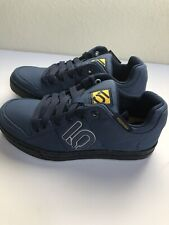 Five Ten Men's Freerider Canvas Mountain Biking Shoes 5193 Mineral Blue size 6.5