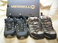 2 PAIRS Merrell Women J88796 Waterproof NEW Moab shoe & J37176 FST New other 6.5