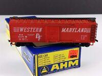 AHM 5279 G Western Maryland 40' Box Car WM 36041 HO Scale