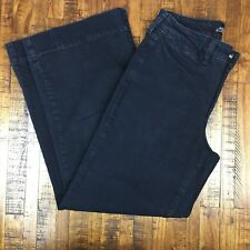 Not Your Daughters Straight Jeans Petite Stretch NYDJ Dark Wash Womens Size 8P 8