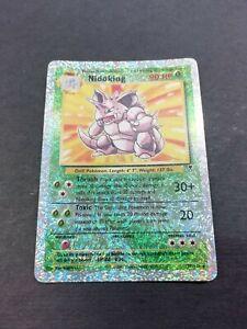 Pokémon - Nidoking - reverse - Legendary Collection
