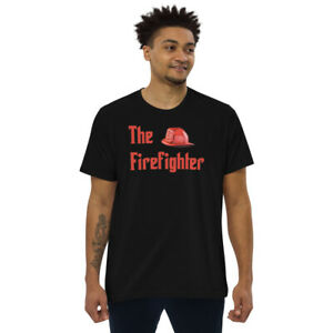 The Firefighter Men's fitted straight cut t-shirt