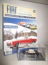 FIAT 124 SPORT SPIDER 1969 CON FASCICOLO  HACHETTE SCALA 1:43