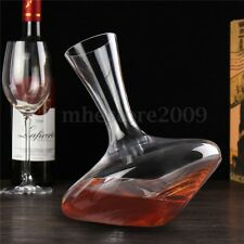 1200ml Luxurious Crystal Glass Red Wine Pourer Decanter Carafe Aerator Lead-free