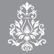"Pochoir motif ""brocade"" - Americana Decor Stencil - 30,5X30,5cm"