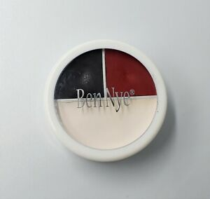 Ben Nye Character Wheel WK-51 Red White & Black SFX FX Stage Professional Makeup