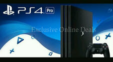 Sony PlayStation 4 Pro PS4 Pro 1TB Console BRAND NEW BLACK