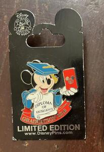 Disney Trading Pins Mickey Graduation 2016 Limited Edition