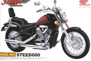 Aoshima 1:12 Honda Steed600 Plastic Model Kit - New Sealed Box