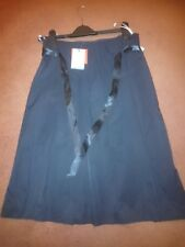 Oasis black pleated skirt rrp £45 size 10 Great for party season