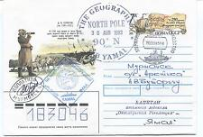 URSS CCCP Exploration Yamal Ship Polar Antarctic Cover Murmansk SIGNED