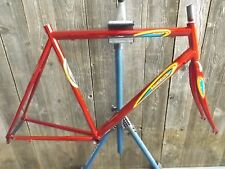 New-Old-Stock Bertin Frame and Fork (54 cm) w/Butted Steel Tubes...Red Finish